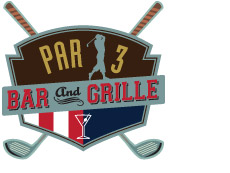Par 3 Bar and Grill logo
